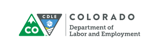 The Colorado Department of Labor & Employment logo